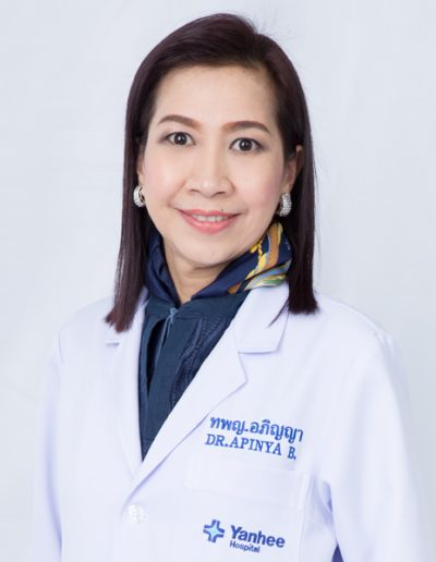 Dr. Apinya Boonchamras